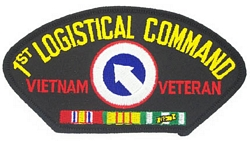 1st Logistical Command Vietnam Veteran Patches
